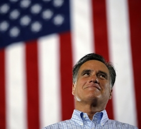 Repblican presdiential candidate Mitt Romney.