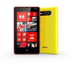 The Nokia Lumina 920, released last week.
