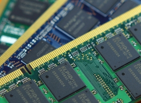 DRAM chips made by now defunct Japanese foundry Elpida. One month before declaring bankruptcy in February, Elpida revealed that it was also developing ReRAM technology.